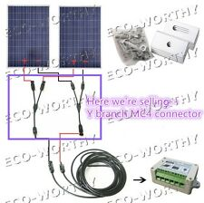 multi Y Branch W/ MC4 connector PV solar Cable for Solar Panel System FF&M, MM&F