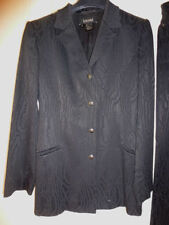 LUXE Escada statement Laurel paillettes Blazer 44/46 np1180, noir or Golf