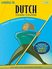 Dutch Crash Course by LANGUAGE/30 (2 CDs) *NEW IN BOX*