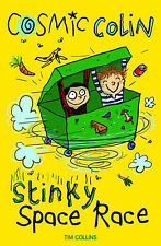 Cosmic Colin: Stinky Space Race, New, Tim Collins Book