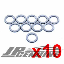 10PC TRANSMISSION OIL DRAIN PLUG CRUSH WASHER GASKETS 90471-PX4-000 - HONDA