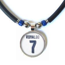 Cristiano Ronaldo #7 2015-16 jersey 3D glass pendant necklace