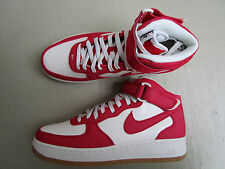 NIKE Air Force 1 Mid'07 44 University RED/SAIL-GUM Light Yellow