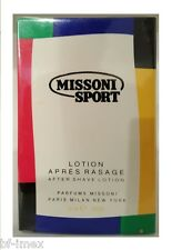 Missoni Sport After shave / Rassierwasser / Apres Rasage Lotion 50ml neu