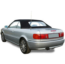 Audi Cabriolet 1992-2000 Convertible Soft Top With Plastic Window Black Pinpoint