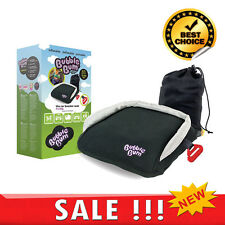 Child Booster Car Seat Bubble Bum Foldable Portable Inflatable Travel Backseat