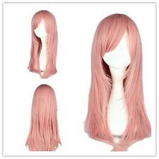 "Party Wig Cosplay Wig Synthetic Hair 55cm/21.7"" for HitmanReborn-Bianchi Pink"