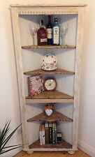Tall Corner Cabinet- Solid Oak