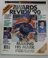 The Hockey News Magazine Oiler's Kevin Lowe & Brett Hull August 1990 082015R