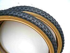 Pair DURO 26x1.75 BMX Bike Gum Wall Tires Color: Red Blue White Black w gum wall