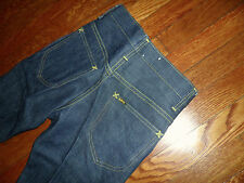 NOS LEE JEANS PLAIN POCKETS MADE IN USA FROM 1970'S 28X34