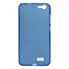 Orbic Slim Clear Ergonomic Cell Phone Case - Blue