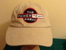 The Power Team, PIRELLI Cap Hat Embroidered Adjustable VELCRO Energy Products