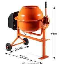 Shogun  70L Portable Cement Concrete Mixer Construction Sand Gravel Building