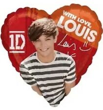 One Direction Louis Tomlinson Foil Girls Party Balloon 1D