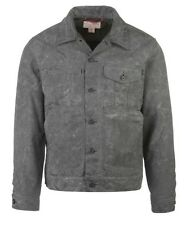 FILSON Short Lined Wax Cruiser Jacket Coat Small Black/Grey NWT $295