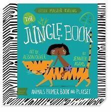 THE JUNGLE BOOK Animals Primer Book and Playset by Jennifer Adams 2014 NEW