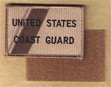 HOOK/LOOP US Coast Guard stripe desert W5066V USCG patch