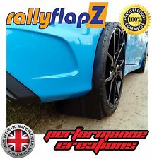 Parafanghi per FORD FOCUS RS MK3 (Nuovo 2016) parafanghi rallyflapZ Nero 4mm PVC