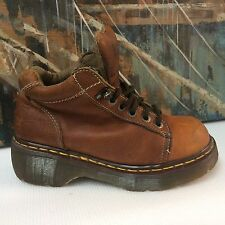 Dr. Martens AirWair Womens Classic Ankle Boots Shoes Size 5 (US 7) 8542 BROWN