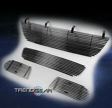 2002-2005 FORD EXPLORER UPPER +BUMPER LOWER +SIDE FOG LIGHT BILLET GRILLE COMBO