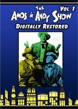 AMOS AND ANDY, BLACK & WHITE, COLLECTOR'S DVD SET, DIGITALLY RESTORED COMEDY!