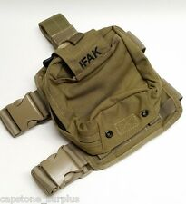 S.O. TECH IFAK Combat Trauma Medical Pouch w/ Drop Leg Panel Coyote Medic
