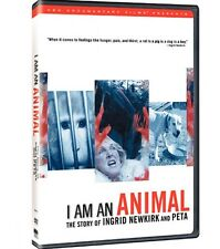 I Am an Animal: The Story of Ingrid Newkirk and PETA (DVD, New!) - SEALED