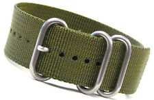 Panatime Ballistic Nylon Nato® Watch Strap® w 3 Stainless Rings