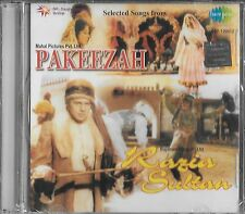 PAKEEZAH / RAZIA SULTAN - 2 IN ONE FILMS - BOLLYWOOD SARE GAMA CD - FREE UK POST
