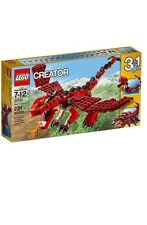 """LEGO CREATOR 3 in1  """" RED CREATURES """"  # 31032   SET NEW IN BOX!!"""
