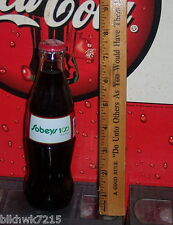 2006 SOBEY'S CANADA COCA COLA BOTTLING COMPANY 100TH ANNIVERSARY 8OZ COKE BOTTLE