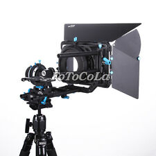 FOTGA DP500IIS A/B Stops Follow Focus+15mm rail rod baseplate+Matte box DSLR rig