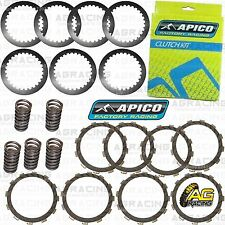 Apico Clutch Kit Steel Friction Plates & Springs For Suzuki RM 125 1998 MotoX