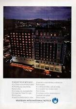 1964 Western International Hotel The Benson Portland Oregon PRINT AD
