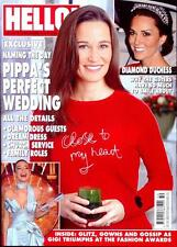 UK Hello! magazine - December 2016 Pippa Middleton Exclusive - Wedding Day