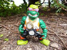 ☺ Figurine Tortue Ninja Année 1991 Hauteur 11 Cm