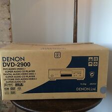 Denon DVD 2900 boxed