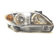 Toyota Corolla 2009-2013 Right Front head lamp lights for S/RS models Black USA