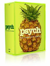 Psych Complete TV Series ALL Season 1-8 Box DVD Set Collection Episodes Show Lot