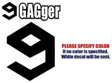 9GAGger 9GAG Funny Vinyl Decal Car Sticker Window bumper laptop tablet 7""
