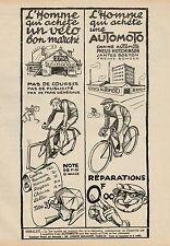 Y9455 Cycles AUTOMOTO - Pubblicità d'epoca - 1925 Old advertising