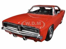 1969 DODGE CHARGER R/T ORANGE 1/25 DIECAST MODEL CAR BY NEW RAY 71893