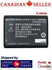 Brand New LP-E10 LPE10 LC-E10 Camera Battery For Canon EOS Rebel T3 T5
