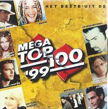 2 CD album MEGA TOP 100 - '99 - 1999 BOYZONE DE POEMA'S BOB MARLEY ANN LEE 557