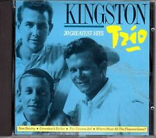 "KINGSTON TRIO ""20 GREATEST HITS"" CD (Black Tulip) WEST GERMANY"