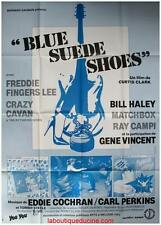 BLUE SUEDE SHOES Affiche Cinéma / Movie Poster Bill Haley / Gene Vincent ROCK