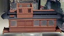 On30 WISEMAN BACHMANN TROLLEY BODY CABOOSE/PASSENGER CAR CONVERSION CASTING SET