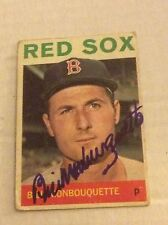 1964 Topps 25 Bill Monbouquette Autographed Auto Signed Card