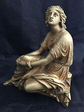 Bronze Jeune Femme  XIX ème 19ème Statuette Sculpture